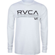 RVCA Distressed Stripe Mens Thermal