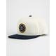 BRIXTON Oath III White & Navy Mens Snapback Hat