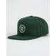 BRIXTON Oath III Green Mens Snapback Hat