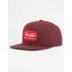 BRIXTON Jolt Burgundy Mens Snapback Hat