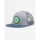 RIP CURL Routine Grey Mens Trucker Hat