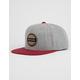 RIP CURL Staple Grey Mens Snapback Hat