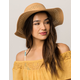 Cutout Floppy Womens Hat
