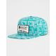RVCA Duh Loris Unstructured Teal Mens Snapback Hat