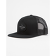 RIP CURL Routine Black Mens Trucker Hat