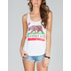 BILLABONG Flower Bear Womens Tank