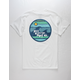 SAN ONOFRE SURF CO. Wavy Lands Mens T-Shirt