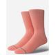 STANCE Icon Pastel Pink Mens Socks