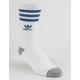 ADIDAS Originals Roller White & Blue Mens Crew Socks