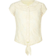 FULL TILT Lace Girls Tie Front Top