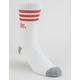 ADIDAS Originals Roller White & Coral Mens Crew Socks