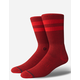 STANCE Joven Red Mens Socks