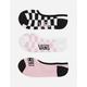 VANS Check U L8R Man Womens Canoodle Socks