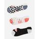VANS 3 Pack Stripe Life Womens Canoodle Socks