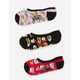 VANS 3 Pack Take Out Womens Canoodle Socks