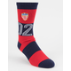 HUF WC Play Maker Red Mens Socks
