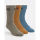 VANS 3 Pairs Classic Assorted Mens Crew Socks