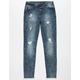 CELEBRITY PINK Ripped Acid Wash Girls Skinny Jeans