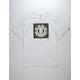 ELEMENT Logo Block White Mens T-Shirt