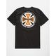 INDEPENDENT 2 Color T/C Mens T-shirt