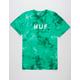 HUF OG Logo Emerald Mens T-Shirt