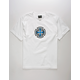 INDEPENDENT Ringed Cross White Boys T-Shirt