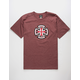 INDEPENDENT Ringed Cross Mens T-Shirt