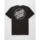 SANTA CRUZ Opus Dot Black Mens T-Shirt