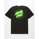 SANTA CRUZ Other Dot Black & Green Mens T-Shirt
