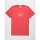 HUF Bar Logo Mens T-Shirt