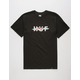 HUF Ripped Logo Mens T-Shirt