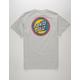 SANTA CRUZ Moon Dot Badge Mens T-Shirt