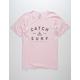 CATCH SURF Mercer Pink Mens T-Shirt