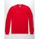 HUF Domestic Red Mens T-Shirt