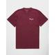 PRIMITIVE Nuevo Core Burgundy Mens T-Shirt