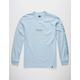 HUF Domestic Light Blue Mens T-Shirt