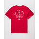 VANS Stacked Rubber Boys T-Shirt