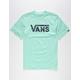 VANS Classic Logo Mint Boys T-Shirt
