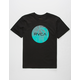 RVCA Motors Fill Black Boys T-Shirt