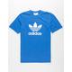 ADIDAS Trefoil Worn Blue Mens T-Shirt