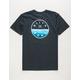 BILLABONG Rotor Fill Navy Boys T-Shirt