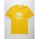 ADIDAS Trefoil Yellow Mens T-Shirt