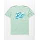 RVCA Scribe Mint Boys T-Shirt