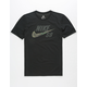 NIKE SB Logo Dri-FIT Mens Black T-Shirt
