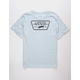 VANS Full Patch Back Boys T-Shirt
