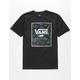 VANS Print Box Black & Neo Jungle Boys T-Shirt
