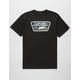VANS Full Patch Black & Neo Jungle Mens T-Shirt