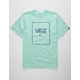 VANS Print Box Mint Boys T-Shirt
