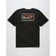 BRIXTON Messenger Black Mens T-Shirt