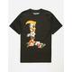 LRG Leaves Black Mens T-Shirt